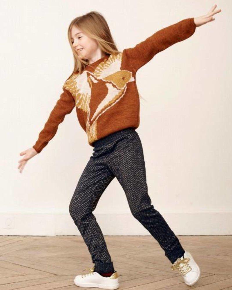 Wonderful leggings | Chevrons Lurex