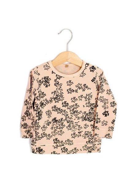 Lötiekids T-Shirt Classic Fit Rainprint   Sweet Rose