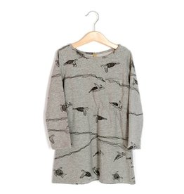 Lötiekids Jurk Turtles | Grey