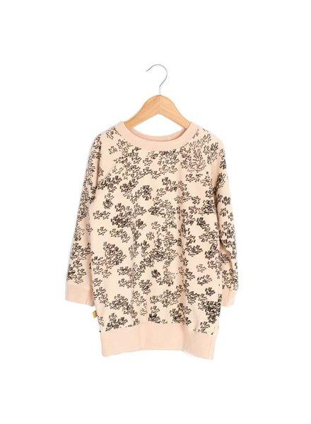 Lötiekids Sweaterdress Rainprint   Sweet Rose