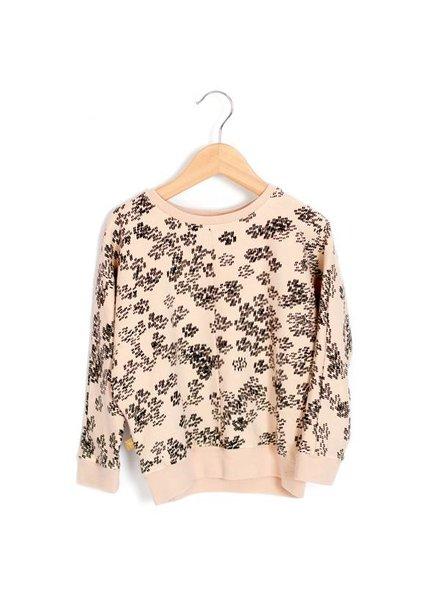 Lötiekids Loose Sweater Rainprint   Sweet Rose