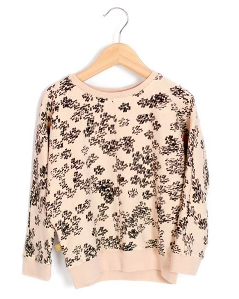 Loose Sweater Rainprint | Sweet Rose