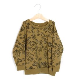 Lötiekids Sweater Rainprint | Kaki