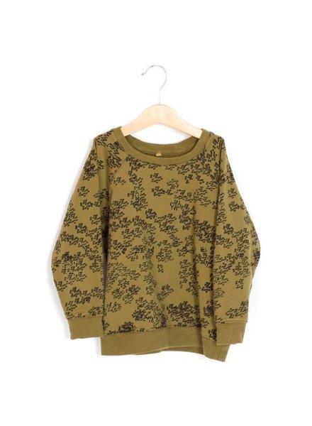 Lötiekids Sweater Rainprint   Kaki