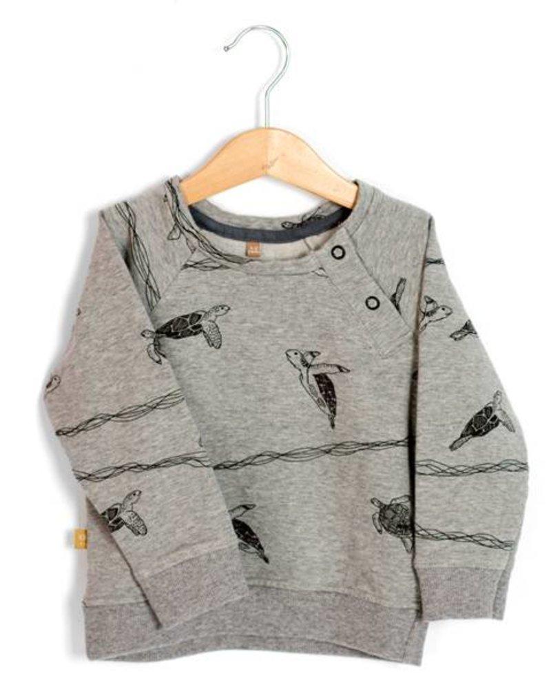 Sweater Turtles | Grey Melange