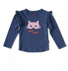 Tapete T-Shirt | Kat | Blauw