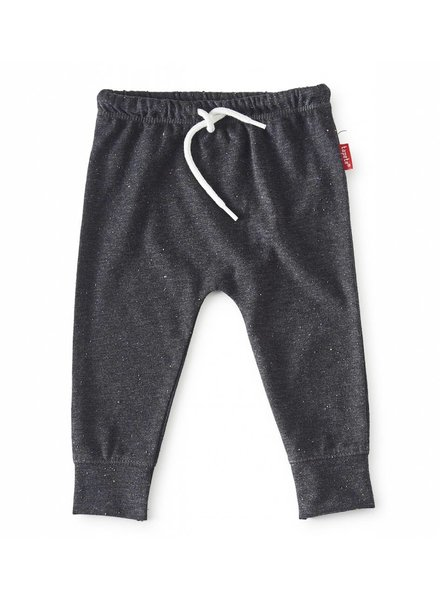 Tapete Baby Sweatpants | Antraciet Spikkel