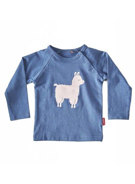 Tapete Baby T-Shirt | Lama | Blauw