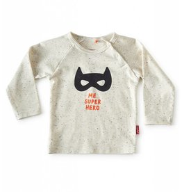 Tapete Baby T-Shirt | Superhero | Off-White Spikkel