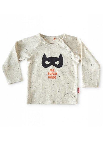 Tapete Baby T-Shirt | Superhero | Off-White Spikkel