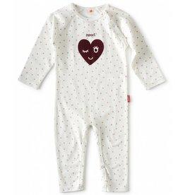 Tapete Babypakje | Sweet | Wit met roze dots