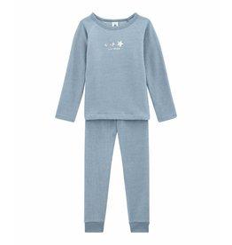 Petit Bateau Pyjama in bouclé badstof