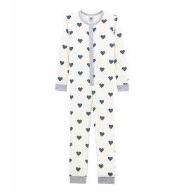 Petit Bateau Onesie pyjama in bouclé badstof