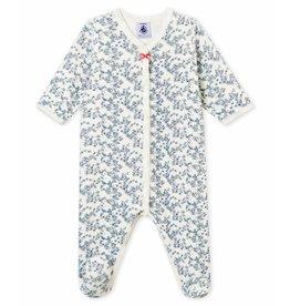 Petit Bateau velours pakje voor babymeisjes