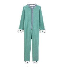 Petit Bateau onesie pyjama met heldencape voor jongens
