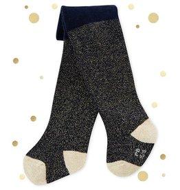 Petit Bateau kousenbroek met glitters voor babymeisjes