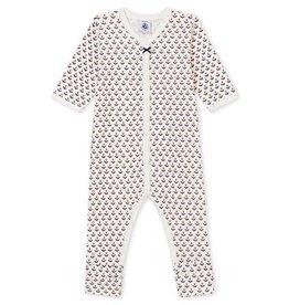 Petit Bateau Pyjama met voetjes voor babymeisjes