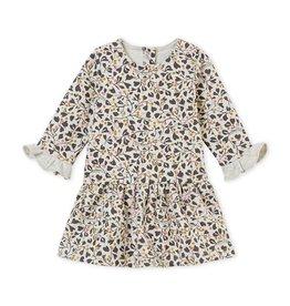 Petit Bateau jurk met dessin voor babymeisjes