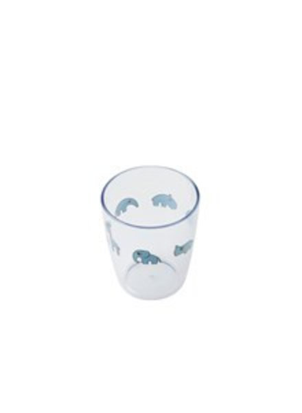 Done by Deer Yummy mini glass | blauw