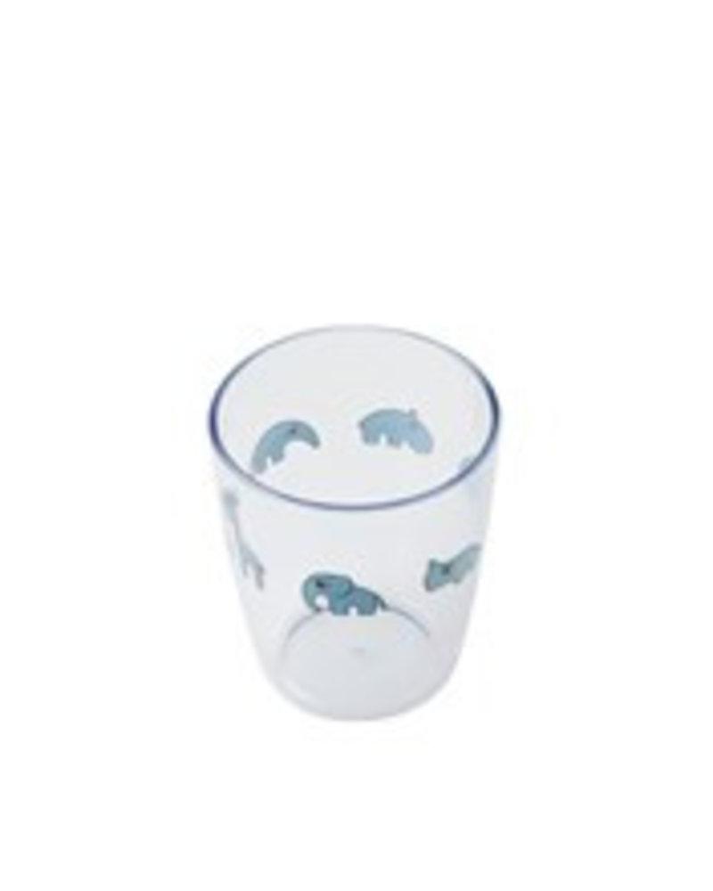Done by Deer Yummy mini glass | blauw