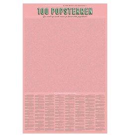 Stratier ™ XL Spelposter | 100 Popsterren