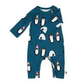 onnolulu Jumpsuit Otto met voetjes | Pinguins