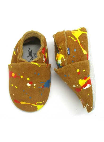 Stabifoot Babyslofjes | Camel Splash