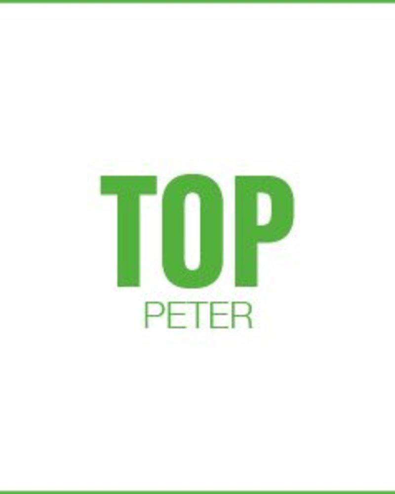Letterpress kaart met enveloppe | top peter