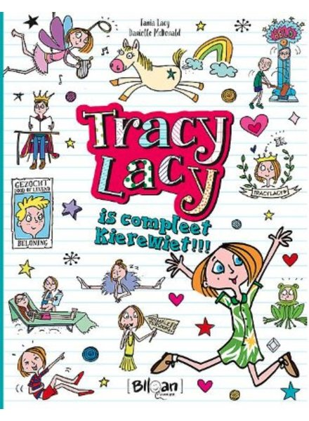 Blloan Tracy Lacy is compleet kierewiet