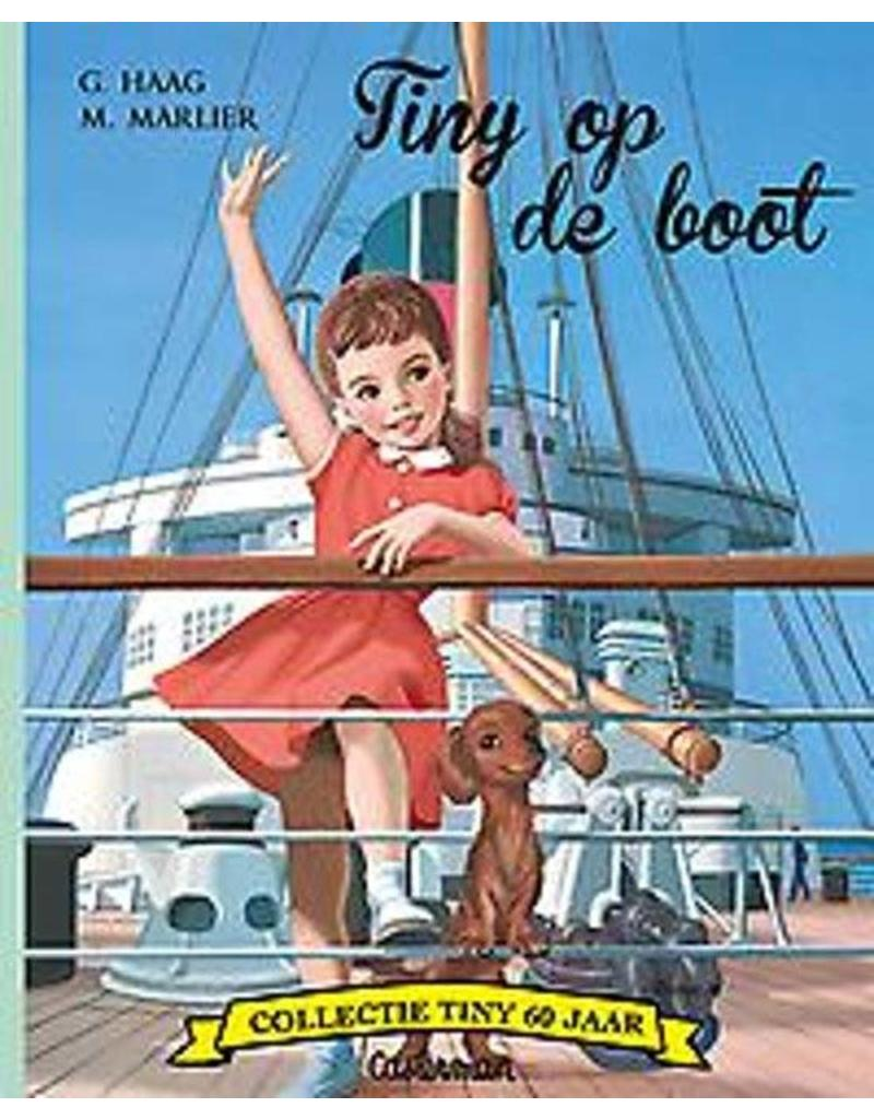 Casterman Tiny op de boot