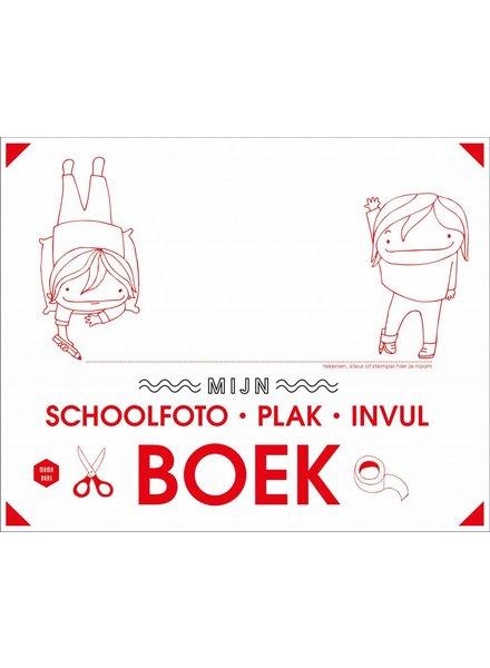 Lannoo Mama Baas   Mijn schoolfoto-plak-invulboek