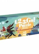 Londji 1, 2, 3, GO! | Puzzel - 54st.