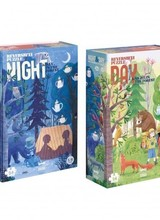 Londji Night & Day in the forest | Puzzel