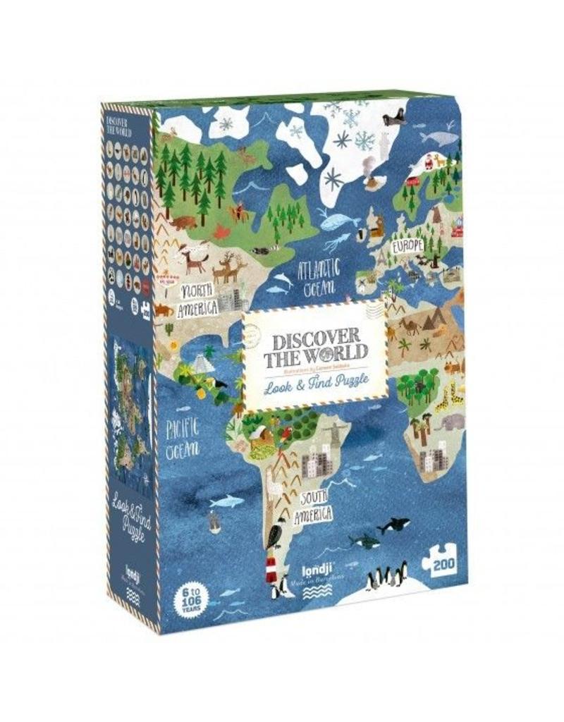 Londji Discover the world | Puzzel