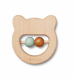 Liewood Houten bijtring | Ivalu | Mr Bear