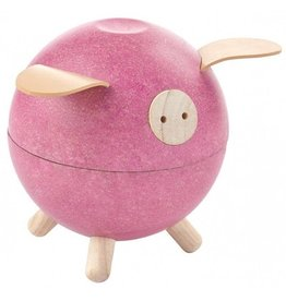 PlanToys Spaarvarken - Roze