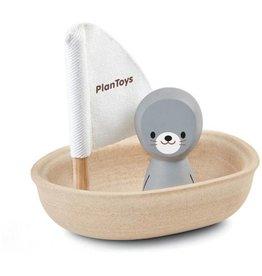 PlanToys Zeilboot Zeehond