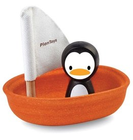 PlanToys Zeilboot Penguin