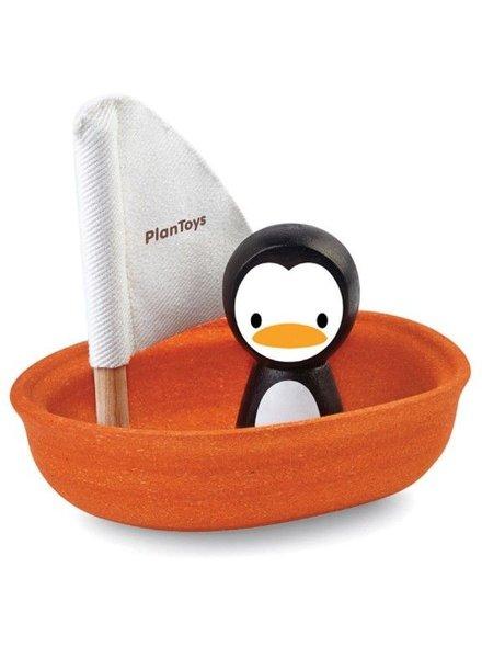 PlanToys Zeilboot Penguin