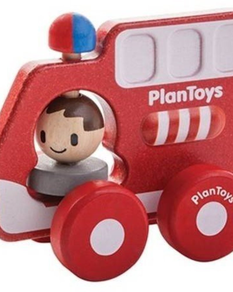 PlanToys Brandweerwagen