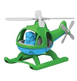 Green Toys helicopter groen