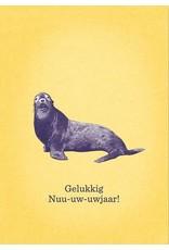 Stratier Nieuwjaarsbrief | Zeehond ZAZA