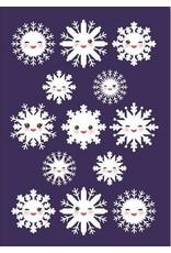 Stratier Nieuwjaarsbrief | Sneeuwvlokjes