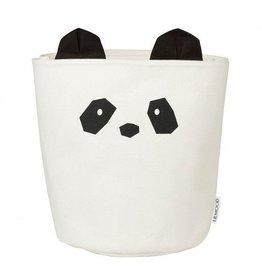 Liewood Stoffen Mand | Panda | Creme de la creme