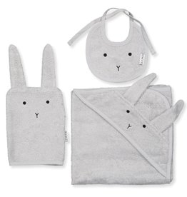 Liewood Baby cadeauset | Adele | Rabbit | Dumbo Grey