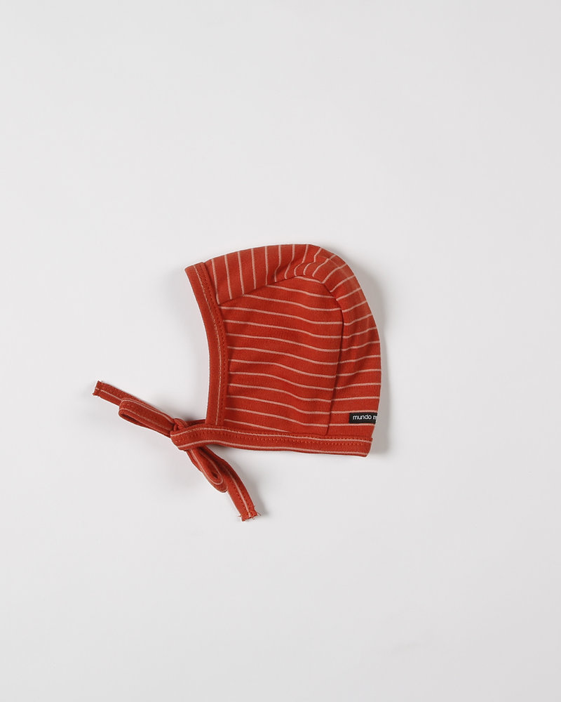 Mundo Melocotón Baby bonnet Seaqual Siska La Línea Chili