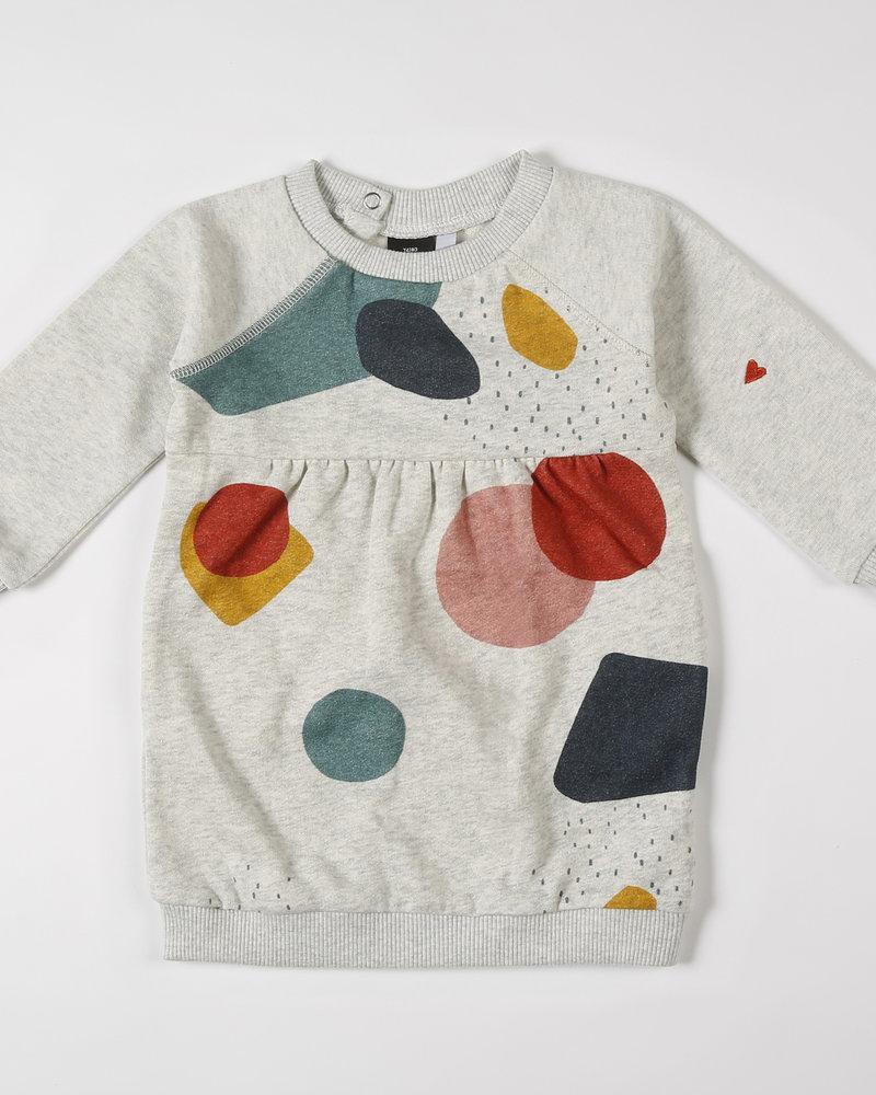 Mundo Melocotón Sweatjurkje Organic Sweater Multi Color