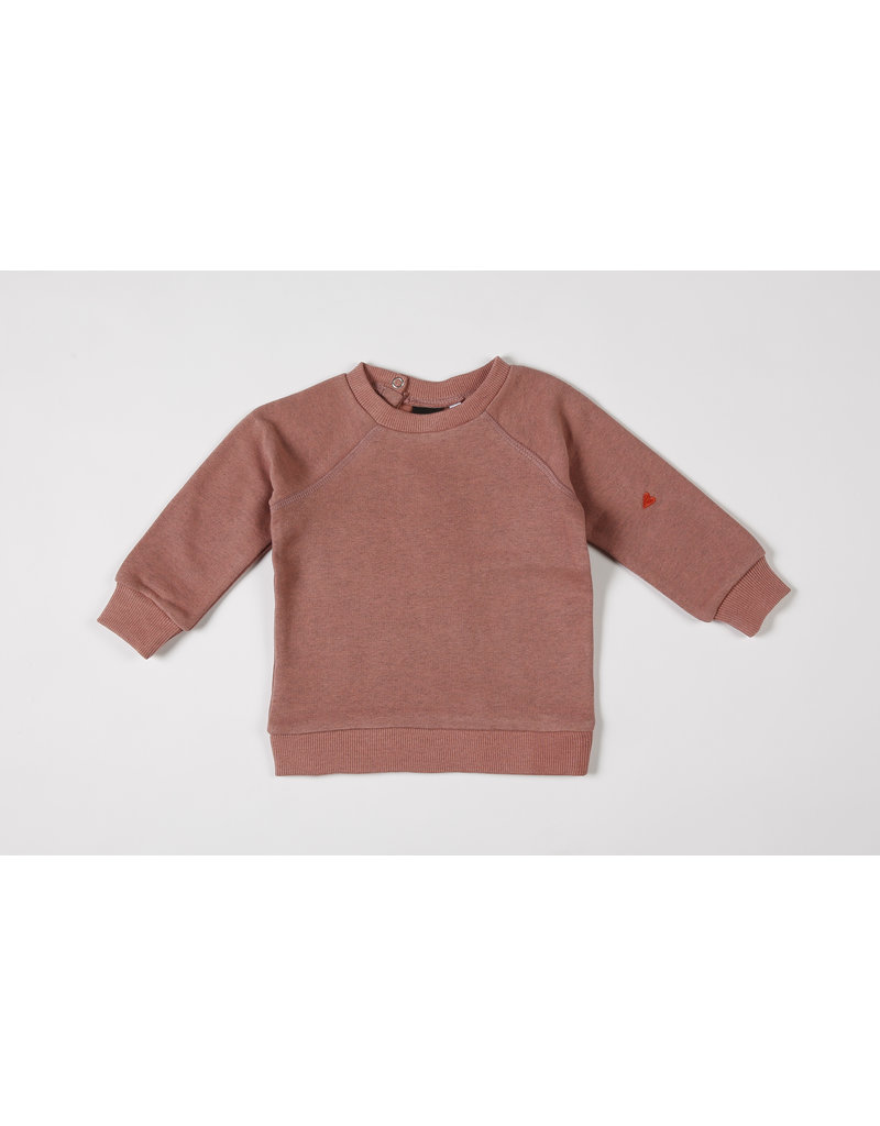 Mundo Melocotón Sweater Organic Sweater Blush