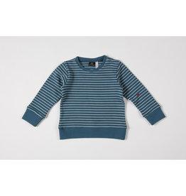Mundo Melocotón Sweatshirt Seaqual Siska La Línea Teal
