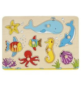 Goki Steekpuzzel - Zeedieren